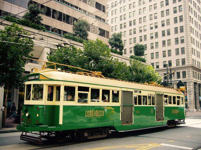 サンフランシスコのトラム