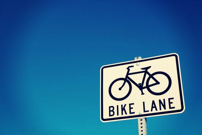 自転車専用看板