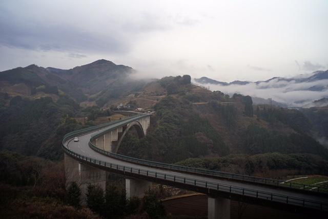 日之影のアーチ橋