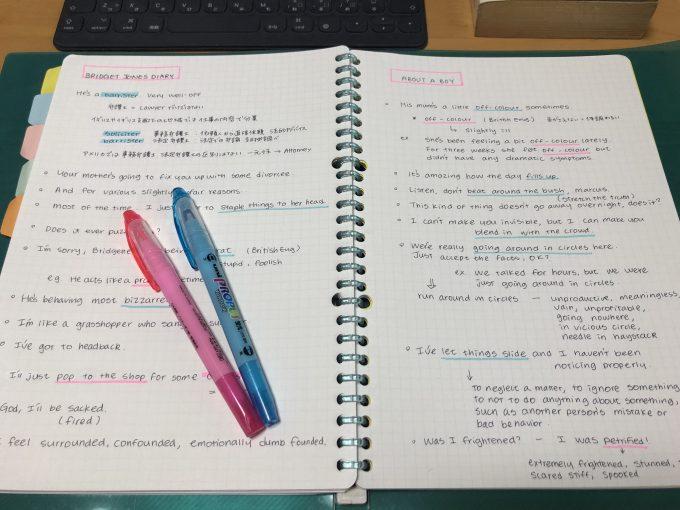 映画で英語学習ノート