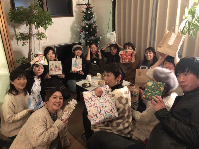 English Cafe クリスマスパーティ 参加してくださった生徒さん