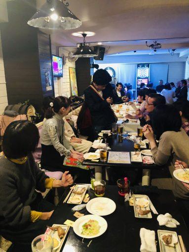 English Cafe 大新年会